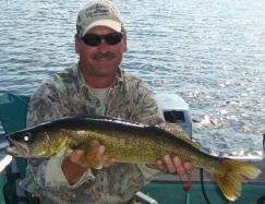 Exciting trophy walleye fishing at Wawang Lake - NW Ontario
