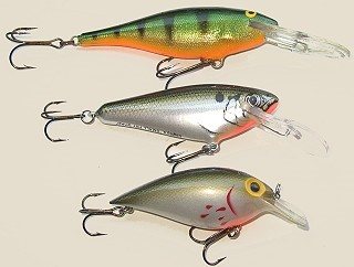 Floating Shad-Perch crankbait