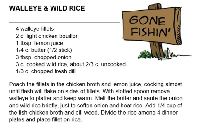 Walleye & Wild Rice
