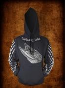 black FB hoodie
