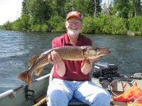 Fishing up in our area was one of Lloyd's favorite pass times. Dearly missed by all of us at Wawang Lake.