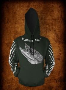 Green FB hoodie