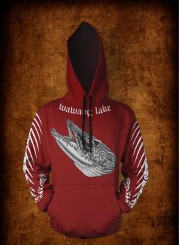 Red FB hoodie