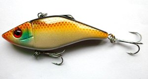 VIB-vibrator-Crankbait-Lure-Bait-7CM-10-5G-3-colors-Fishing-tackle-two-hooks-2012-newly