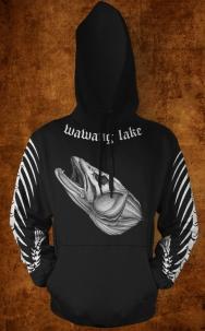 walleye hoodie