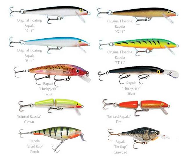 Some of the best walleye lures wawang lake resort for Best lures for river fishing
