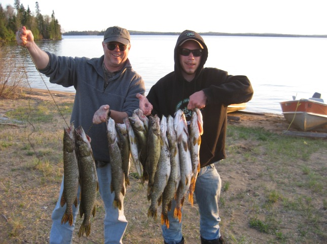 how to catch northern pike from shore