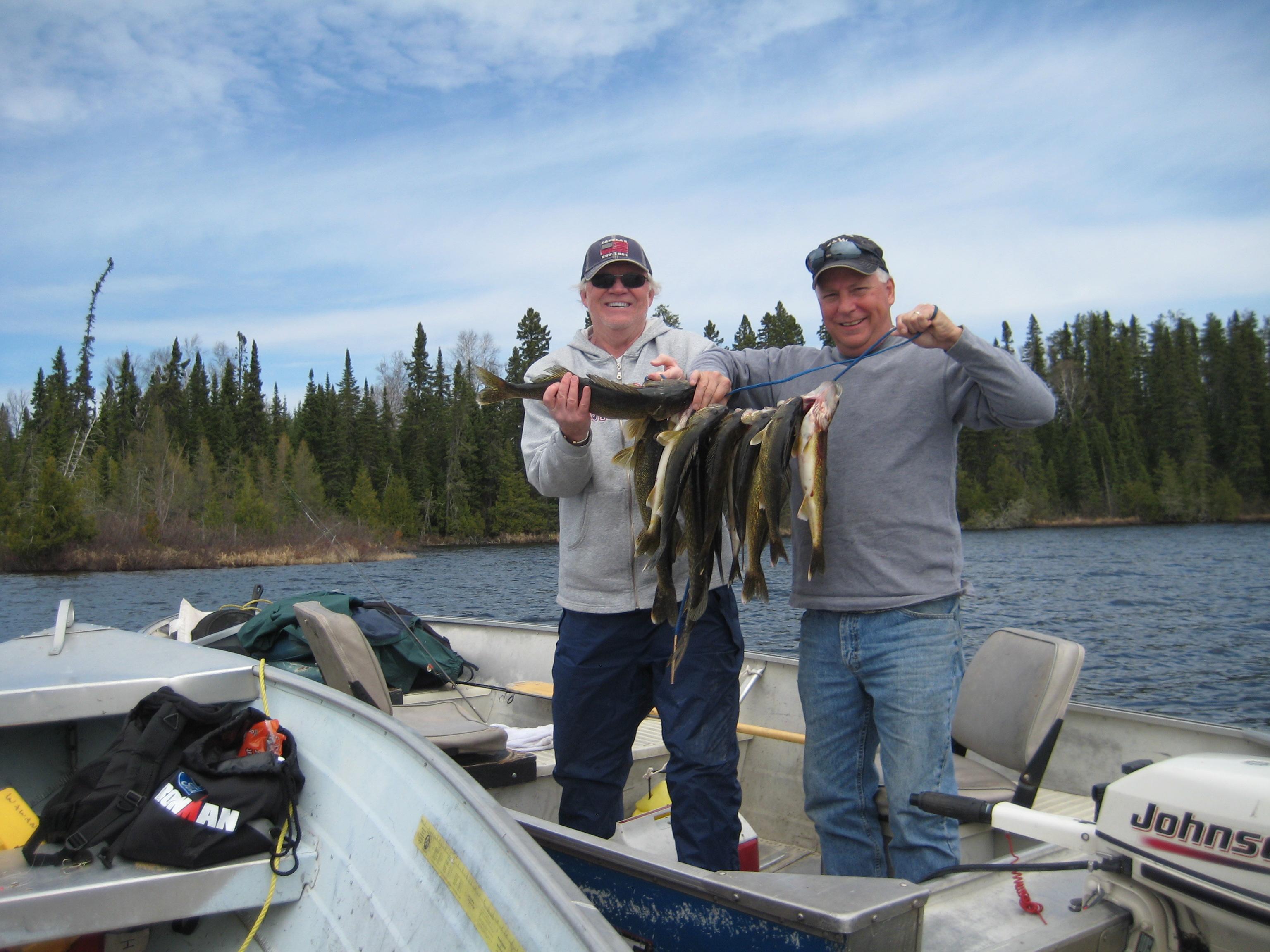 Minnow wawang lake resort for Best fishing line for walleye