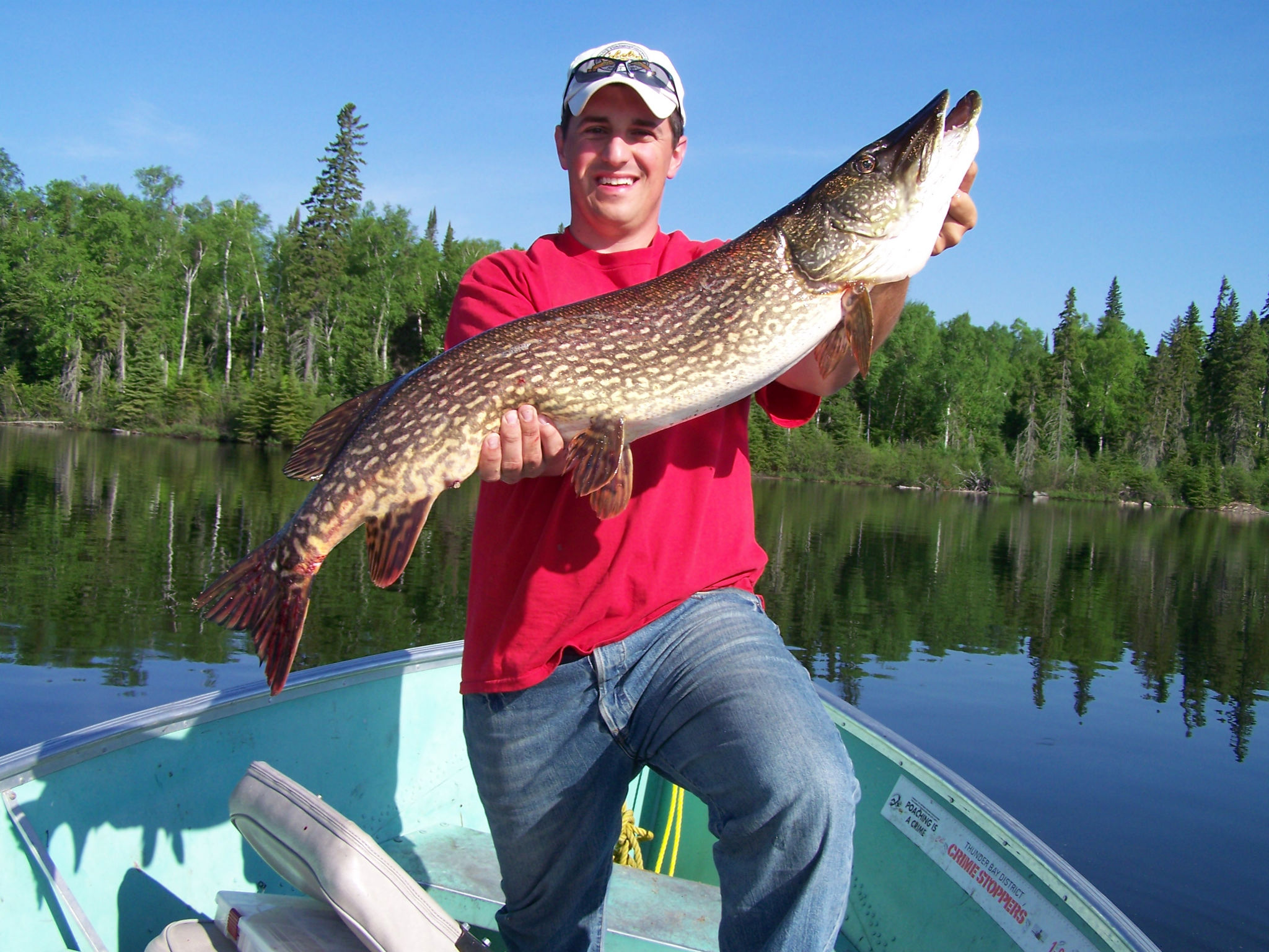 Deep-Water Tactics for Monster Pike pt 2