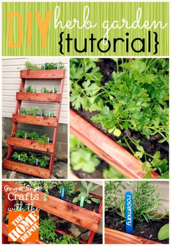 DIY Herb Garden With The Home Depot Tutorial