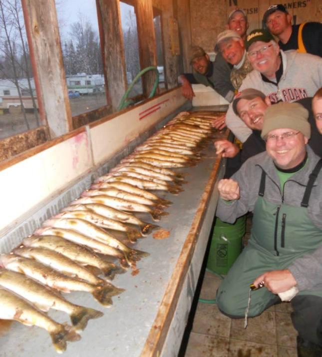 Wawang Lake - Spring Walleye Fishing