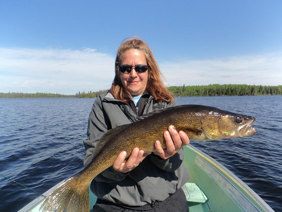 Understanding different walleye patterns wawang lake resort for Fishing for walleye