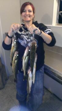 Wawang walleye catch