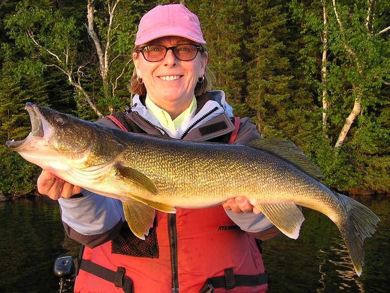 Top five walleye fishing tips wawang lake resort for Walleye fishing tips